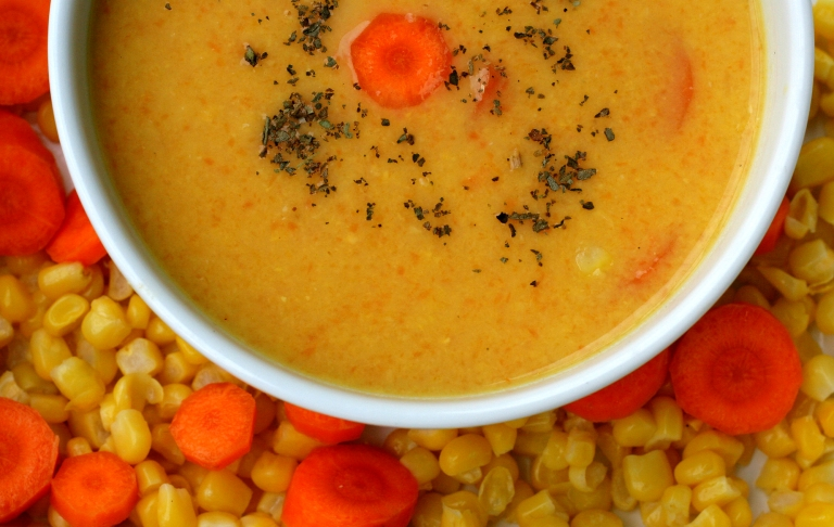 kukuric polievka