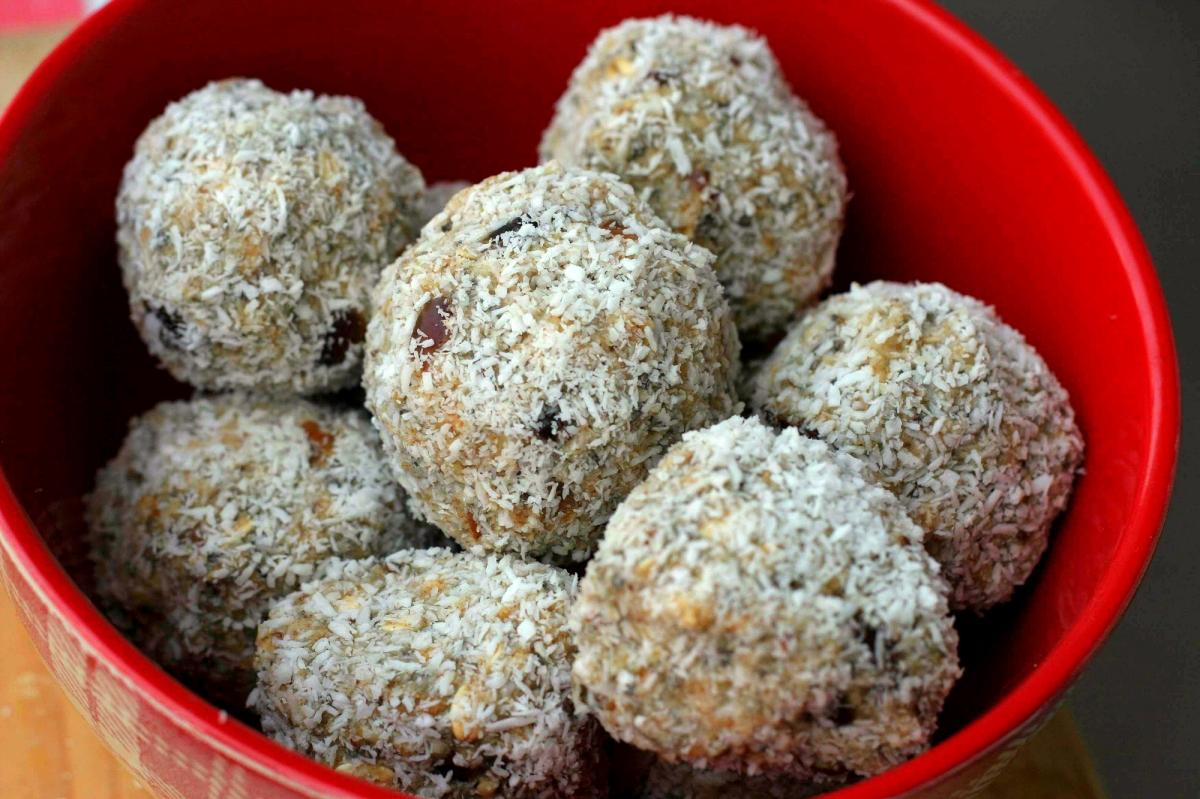 Rýchle a výborné: raw kokosové guličky