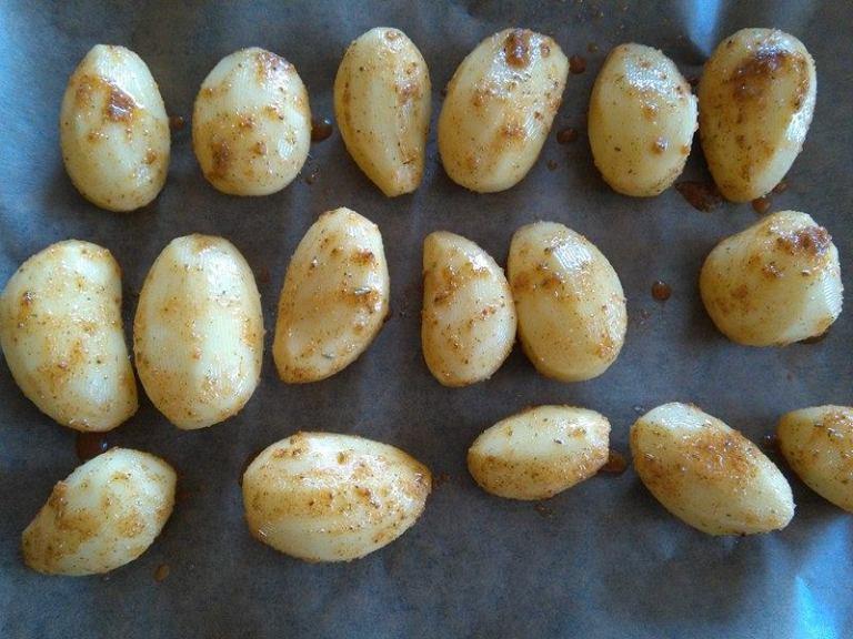 pečene zemiaky